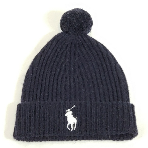 Polo Ralph Lauren Men s Pom Beanie Big Pony Logo 1ae2157f22ac